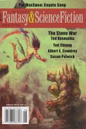 May/June 2016 issue of The Magazine of Fantasy & Science Fiction