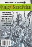 July/August 2016 issue of The Magazine of Fantasy & Science Fiction