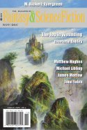 November/December 2019 issue of The Magazine of Fantasy & Science Fiction